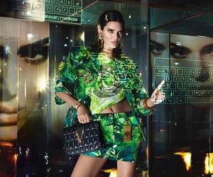 kendall jenner icons, luxury, and Versace image
