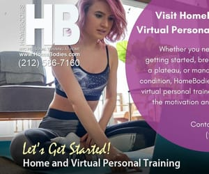 virtual personal training and virtual personal trainer image