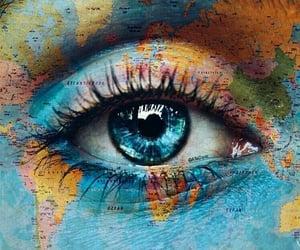 art, artwort, and eye image
