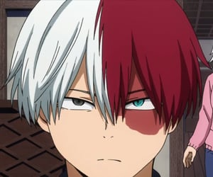 boku no hero academia, todoroki, and shoto image