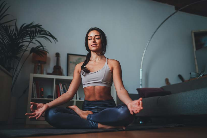 anxiety, article, and meditation image