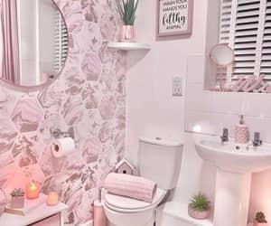 decoração, suadecoracao, and banheiro rosa image