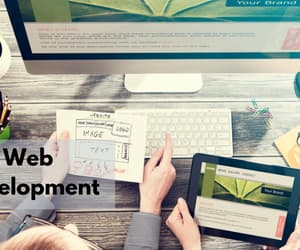 seo, web development, and web designing image