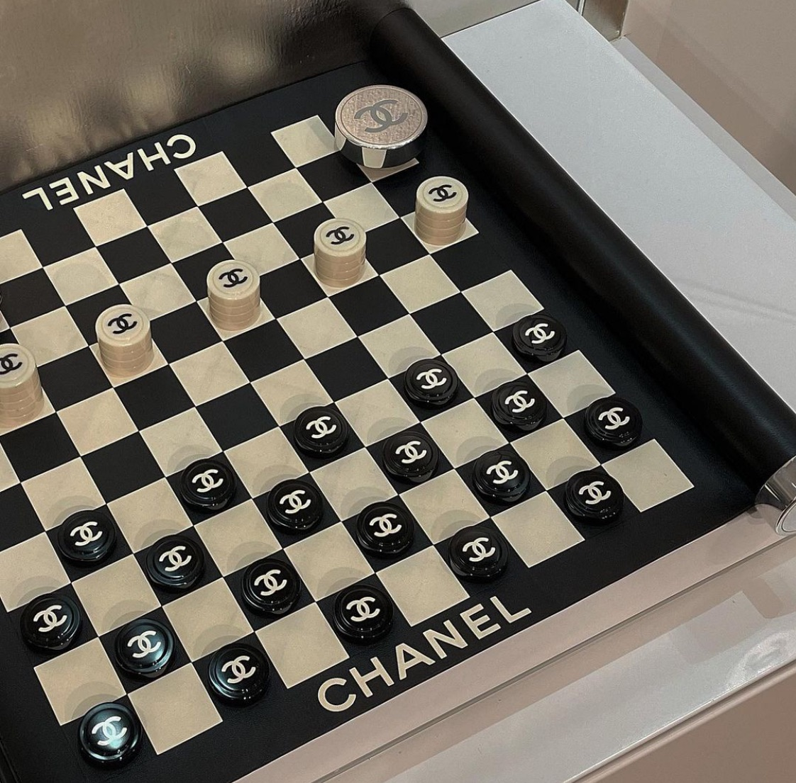 aesthetic, chanel, and chess image