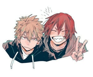 bnha and kiribaku image