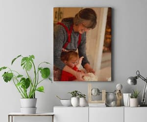 canvas print, digital painting, and digital print image