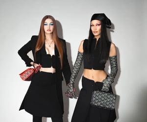 gigi hadid, bella hadid, and model image