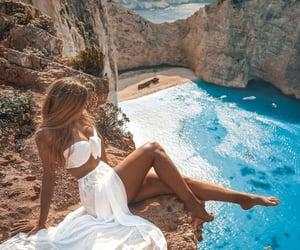 aesthetic, Greece, and scenery image