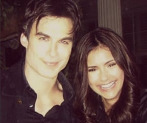 couples, nina, and ian somerhalder image