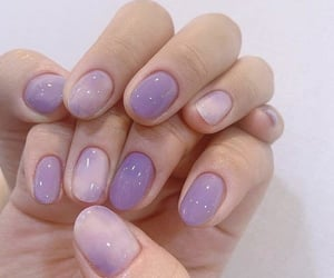 acrylic, fake nails, and nails image