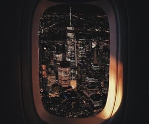 travel, city, and night image