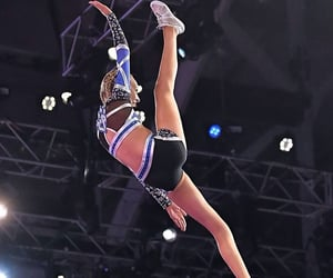 cheer, girl, and sport image