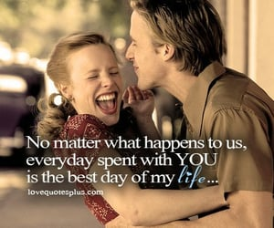 couples, movies, and movie quotes image