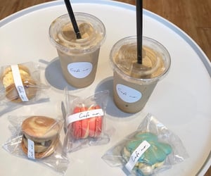 cafe, latte, and icecoffee image