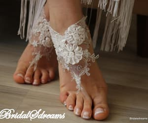 wedding lace shoes, etsy, and weddings image