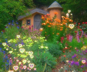 cottage, nature, and cute image