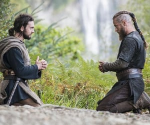 vikings, travis fimmel, and norse mythology image