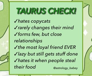 astrology, signs, and taurus image