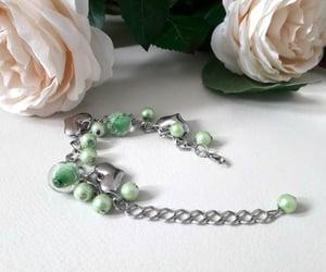 bracelet, charm bracelet, and jewellery image