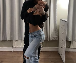 love relationship goals, style denim jeans, and boys girls fashion image
