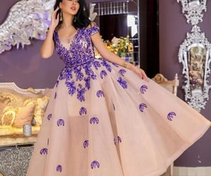 beauty, dress, and dresses image