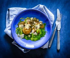 food, mushrooms, and recipes image