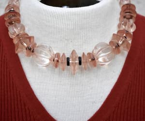 etsy, necklace vintage, and lucite necklace image