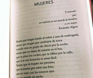 books, women, and mujeres image
