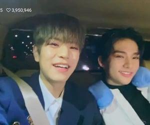 hyunmin, skz, and hyunjin image