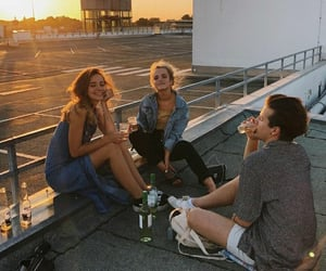 aes, friendship, and roof image