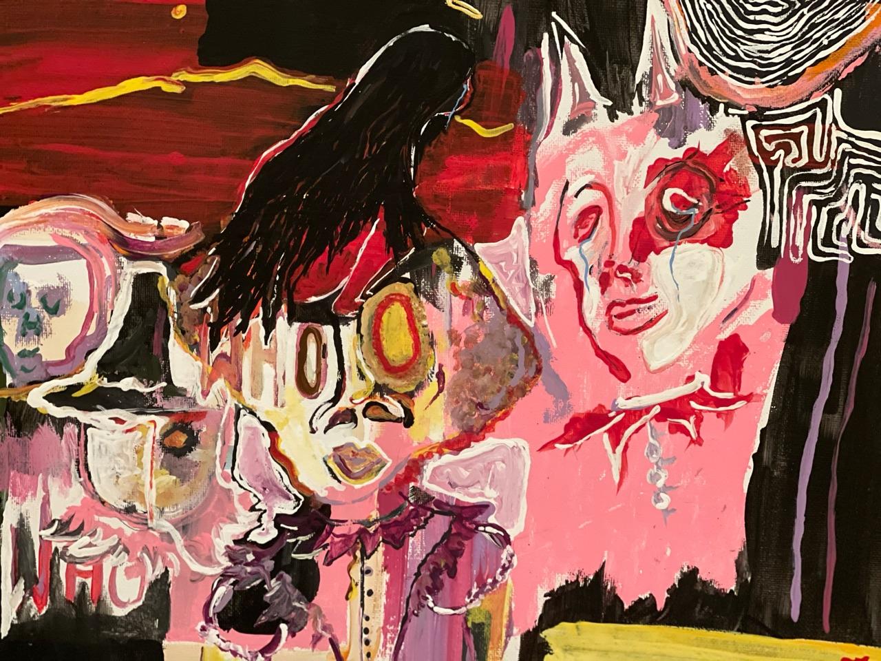 art, Devil, and dope image