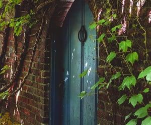 door, doors, and fairytale image