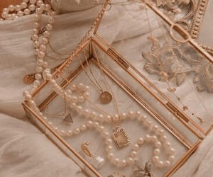 fashion, jewelry, and pearls image