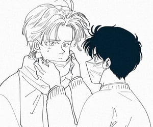 ash, fanart, and banana fish image