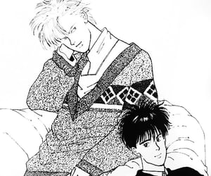 japanese, banana fish, and eiji image