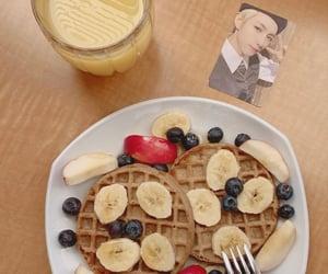 aesthetic, renjun, and breakfast image
