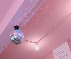 disco ball, light, and purple image