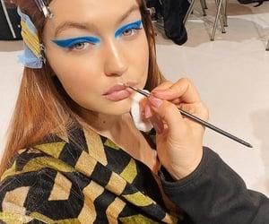 beautiful, make-up, and model image