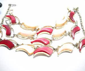 lucite jewelry, matching set, and jewelry set image