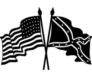 american, war, and civil image