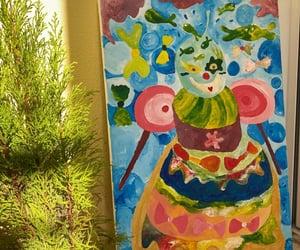 aquarium, clown, and art image