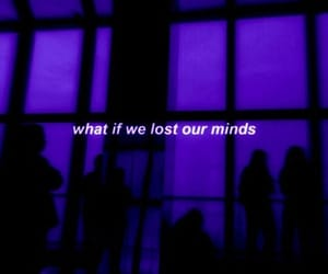 aesthetic, quote, and purple glow image