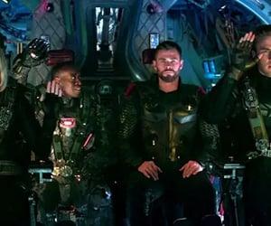 black widow, chris evans, and Scarlett Johansson image