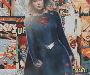 comic, Supergirl, and superhéroe image