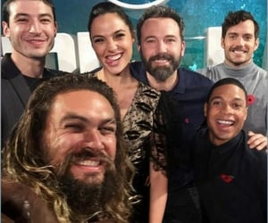 Ben Affleck, jason momoa, and Henry Cavill image