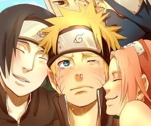 naruto, sasuke, and team 7 image