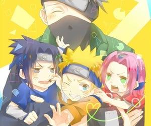 kakashi, sakura, and naruto image