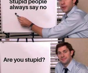 joke, white board, and black image
