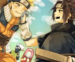 kakashi, sakura, and sasunaru image