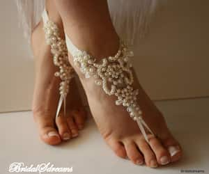 etsy, weddings, and wedding sandals image